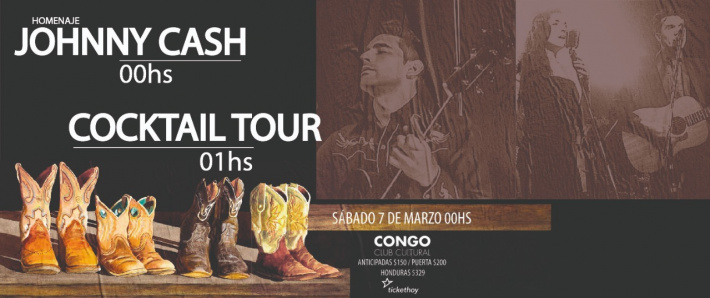 Homenaje Johnny Cash + Cocktail Tour