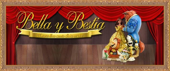 La Bella y la Bestia, el maravilloso cuento clásico en vivo
