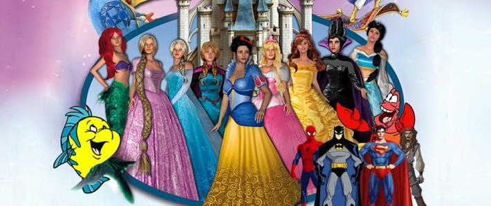 Un Mundo de Princesas y Super-héroes
