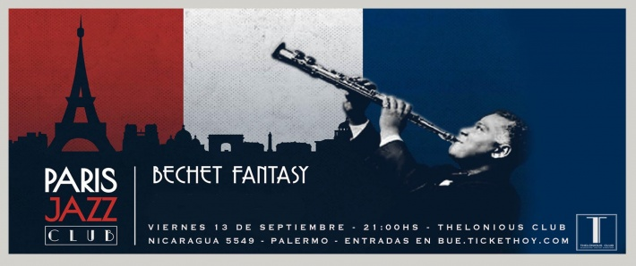 PARIS JAZZ CLUB presenta BECHET FANTASY (13/09)