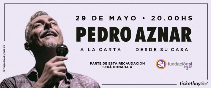 Pedro Aznar: A la carta | Desde su casa