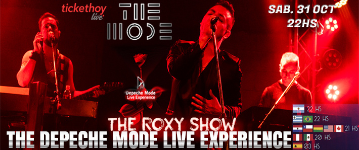 The MODE - THE DEPECHE MODE LIVE EXPERIENCE