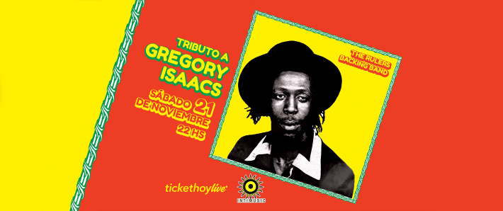 Tributo a Gregory Isaacs - The Cool Rulers
