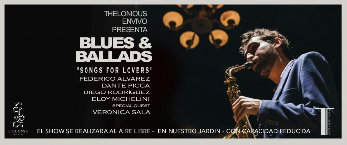 "BLUES & BALLADS ""Songs for lovers"" (24/04)"