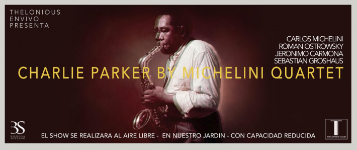 CHARLIE PARKER BY MICHELINI QUARTET (23/04)