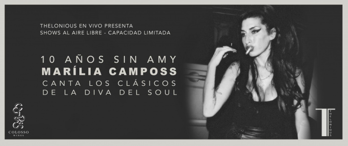 10 años sin Amy - MARILIA CAMPOSS (15/05)