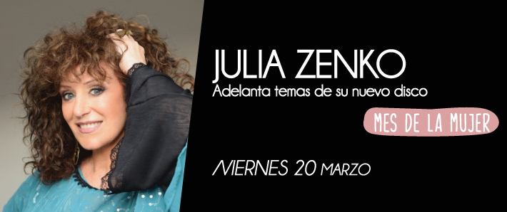 Julia Zenko voces invitadas